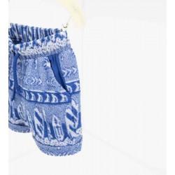 ZARA kék-fehér rövidnadrág