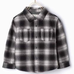 ZARA checkered shirt with lining