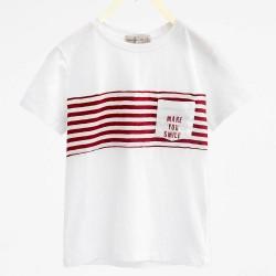 ZARA  T-shirt with dog