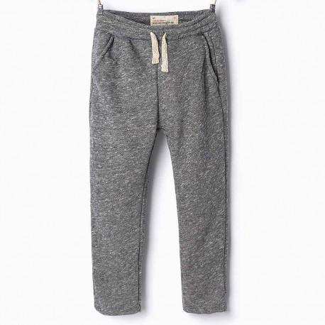 aa5f571f ZARA grey sweatpants