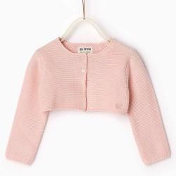 ZARA BABY rózsaszín kardigán