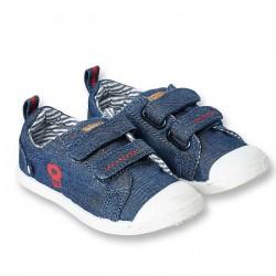 Obaibi kék tépőzáras tornacipő