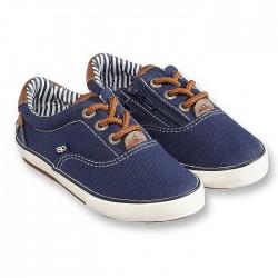 Obaibi kék gumis tornacipő