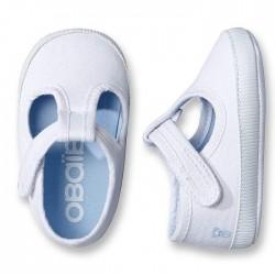 Obaibi fehér kiscipő