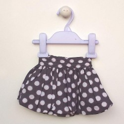 Obaibi grey and white skirt