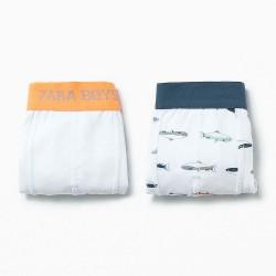 ZARA alsónadrágok halakkal - 2 darab