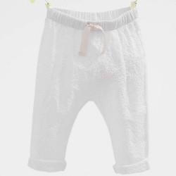 ZARA fehér csipkés nadrág