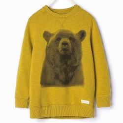 ZARA medvés pullover
