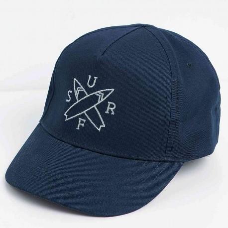 eca0c242716 ZARA blue baseball cap