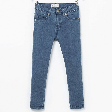 ee59b304 ZARA blue skinny jeans