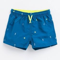 ZARA embrodiery swim shorts