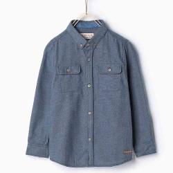 ZARA kék ing