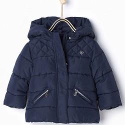 ZARA darkblue wintercoat
