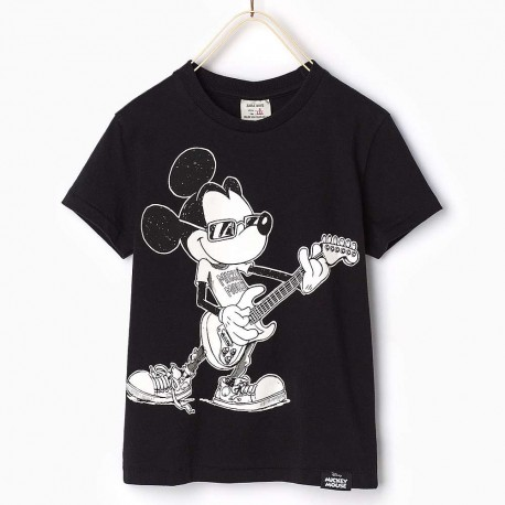 Zara T Shirt With Mickey