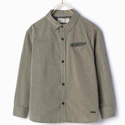 ZARA zöld hosszú ujjú ing