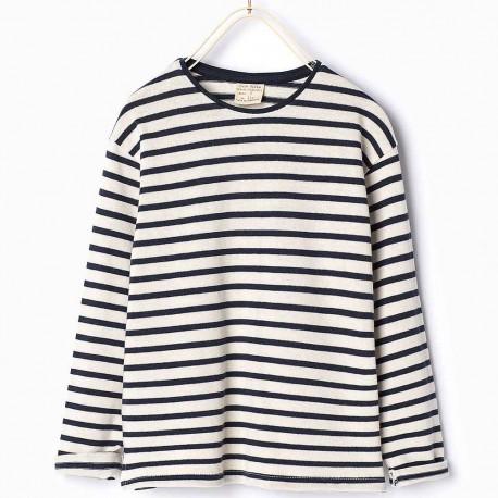 ZARA striped long sleeve T-Shirt