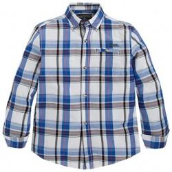 Mayoral blue checkered shirt