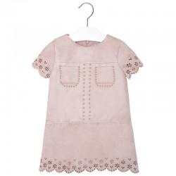 Mayoral rózsaszín csipkés  ruha