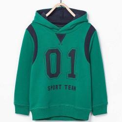 ZARA zöld kapucnis pulóver