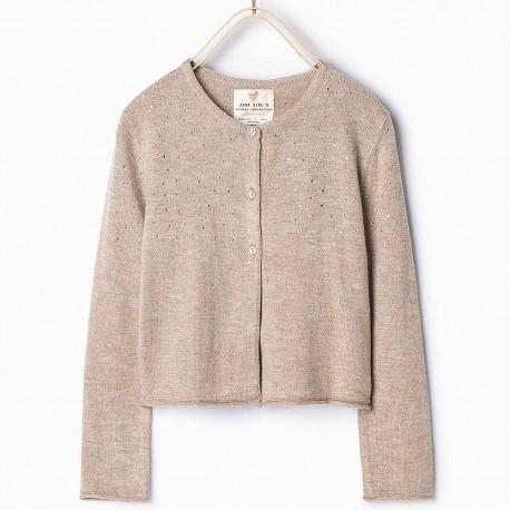 167c204fb405 Zara Knitted Cardigan