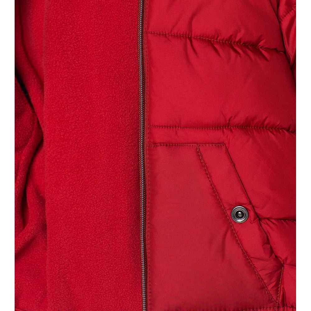 ZARA piros télikabát e9f537f4bd