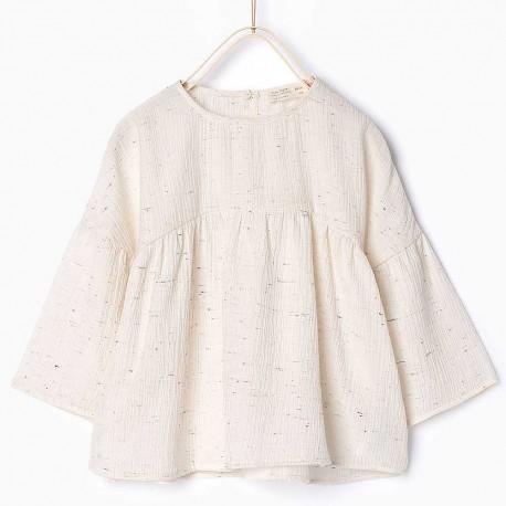 dc5a2a1d2745fb ZARA white blouse