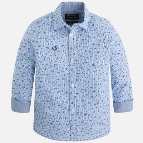 Mayoral kék virágos ing