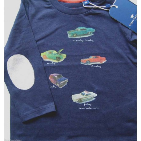 Tom Tailor Long sleeve T-shirt with cars