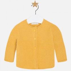 MAYORAL mustard cardigan