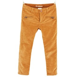 ZARA brown velvet trousers